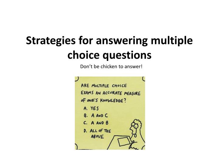 multiple choice questions and essay questions