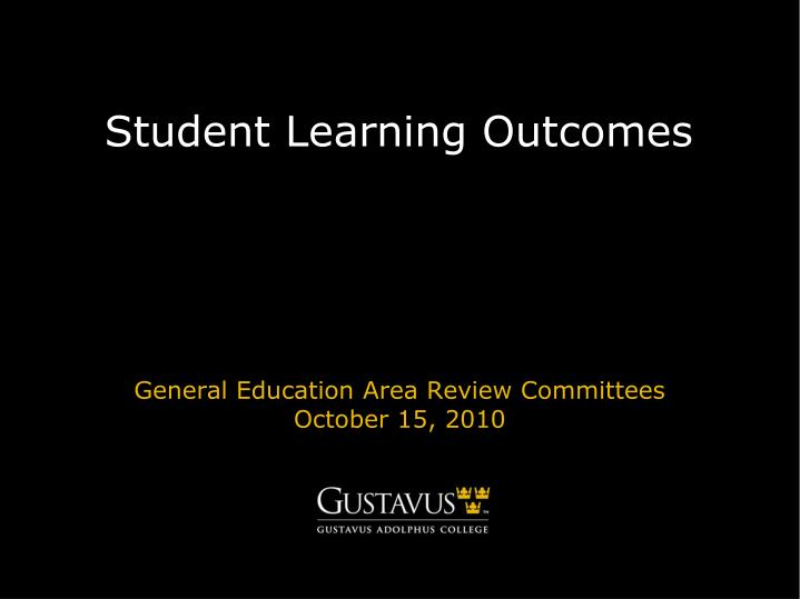 student learning outcomes n.