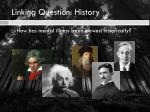linking question history