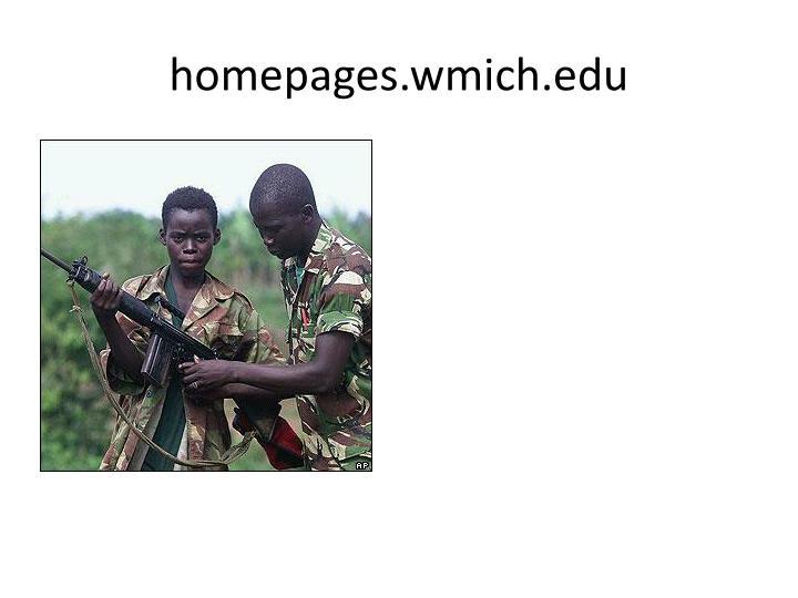 Homepages wmich edu