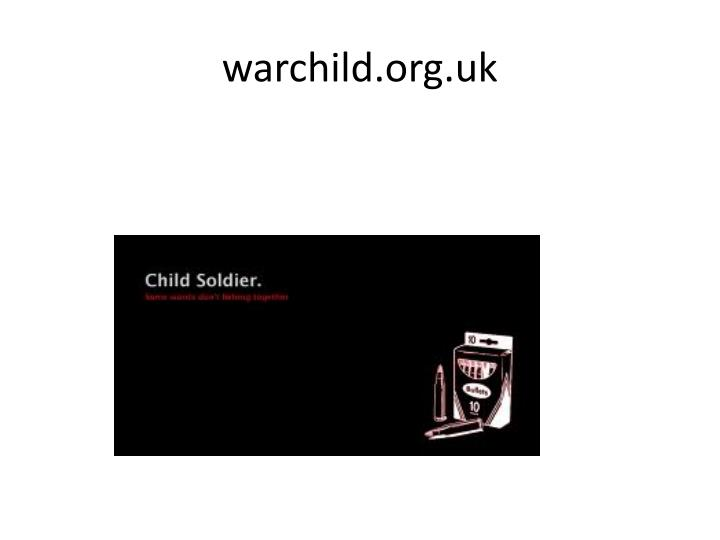 warchild.org.uk
