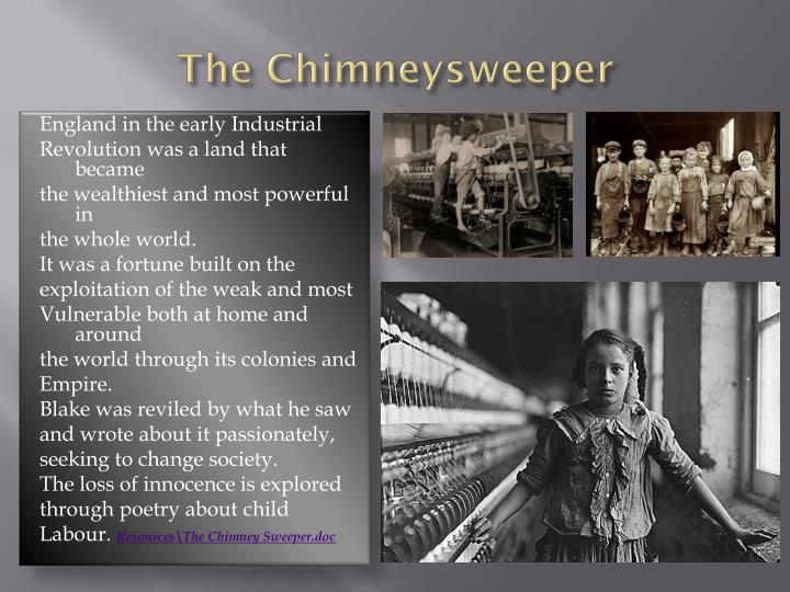 The Chimneysweeper