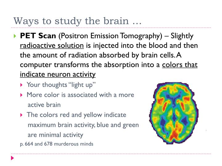 a research on the four methods used to study brain activity Electroencephalography definition electroencephalography, or eeg, is a neurological test that uses an electronic monitoring device to measure and record electrical activity in the brain purpose the eeg is a key tool in the diagnosis and management of epilepsy and other seizure disorders it is also used to assist in the diagnosis of brain damage and.