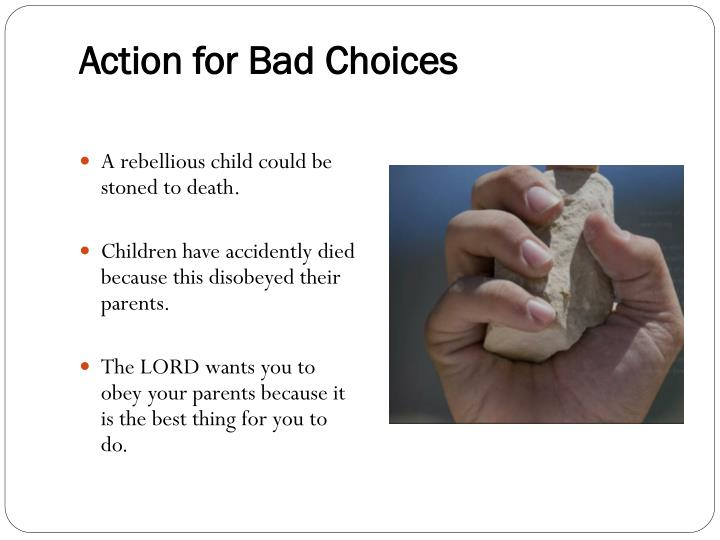 Action for Bad