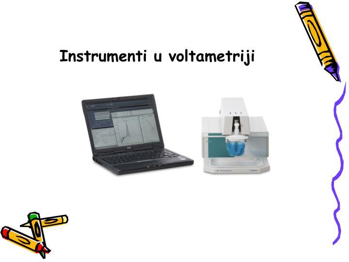 Instrumenti u voltametriji