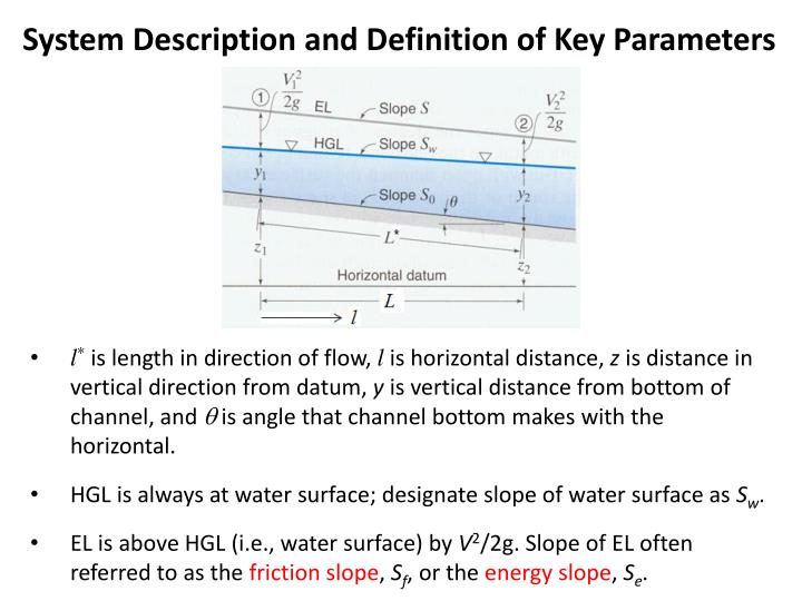 System Description and Definition of Key Parameters