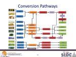 conversion pathways