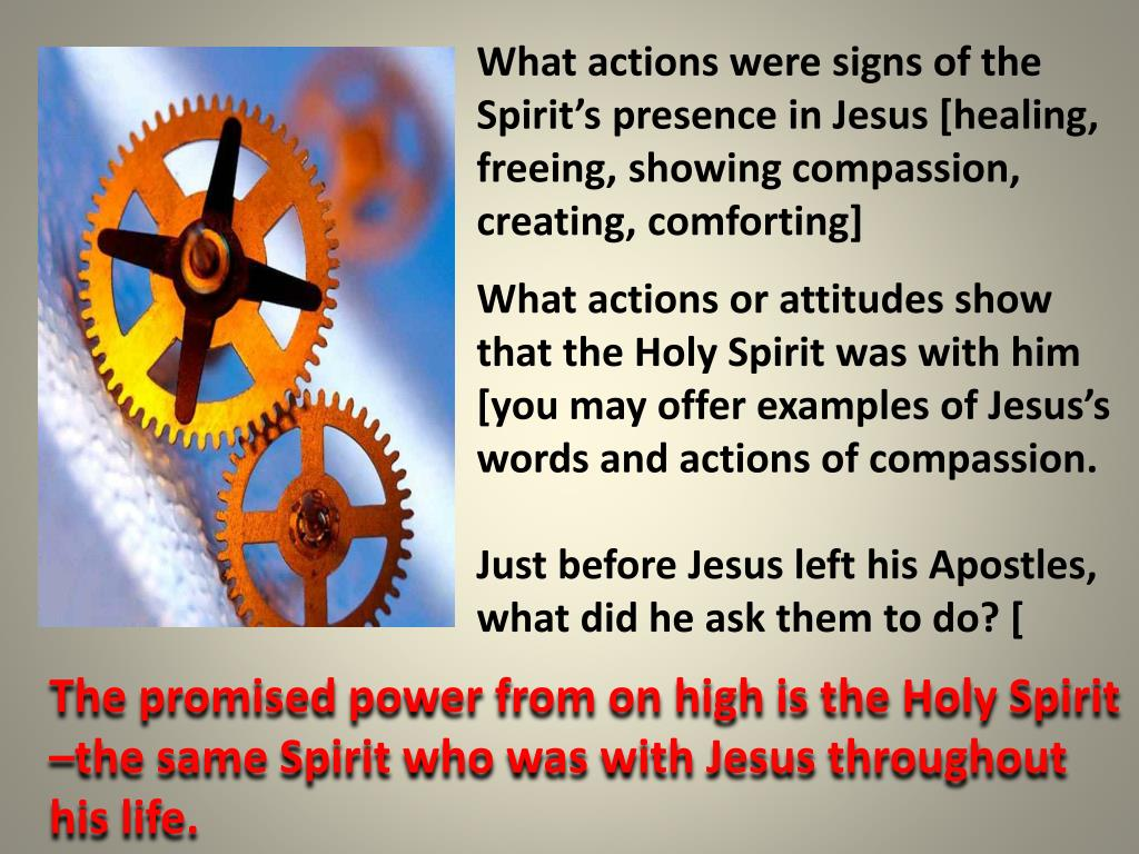 PPT - Guided and Strengthened by the Holy Spirit PowerPoint