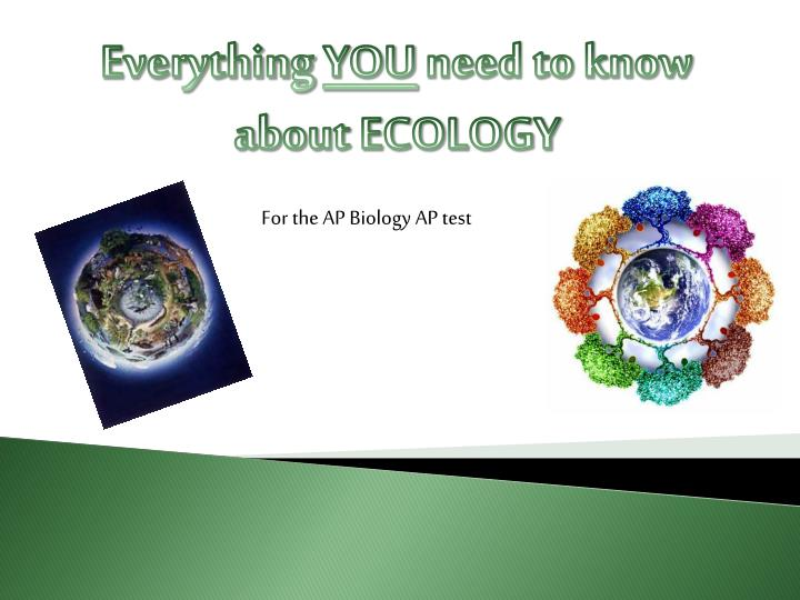 ap biology ecology essays Description: covers summer assignment material only ecology unit they may have an abundant food source and not much competition for it the population may stabilize itself flood documents similar to ap biology essays.