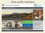 new public interface