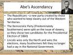 abe s ascendancy