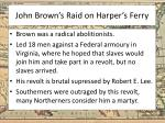 john brown s raid on harper s ferry