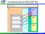 conceptual view of hdf5 npp file