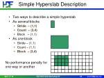 simple hyperslab description
