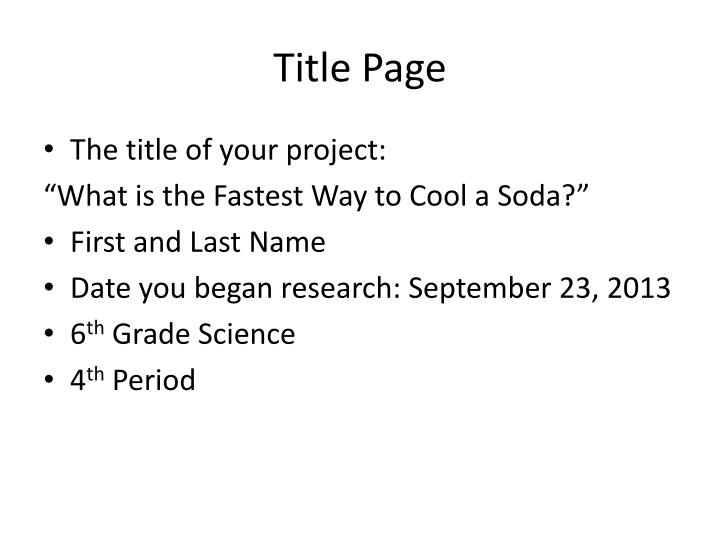 fastest way to cool a soda research