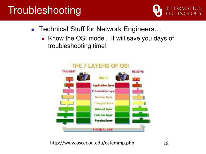 Technical Stuff for Network Engineers…