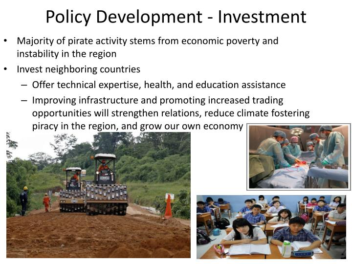 Policy Development - Investment