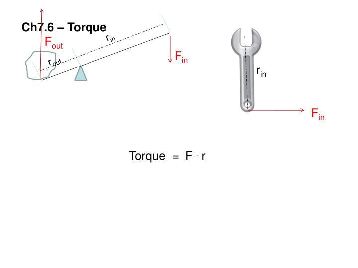 Ch7.6 – Torque