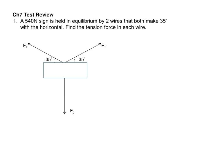 Ch7 Test Review