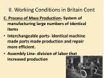 ii working conditions in britain cont1