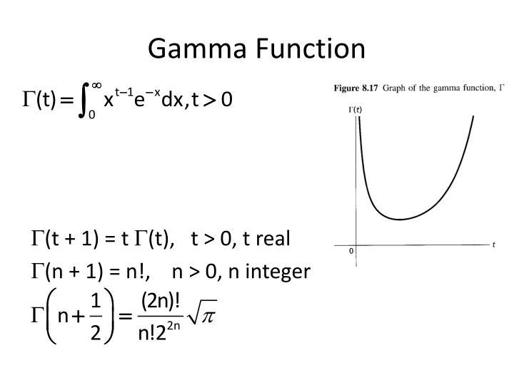 Gamma Function