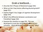grab a textbook