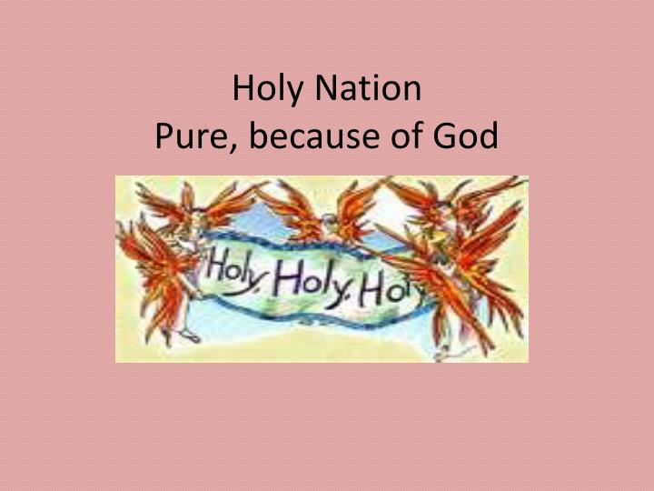 Holy Nation