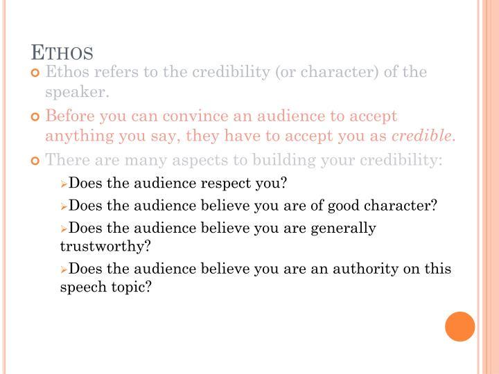 i believe speech topics