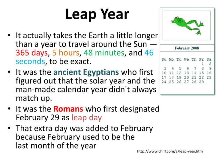 Leap Year