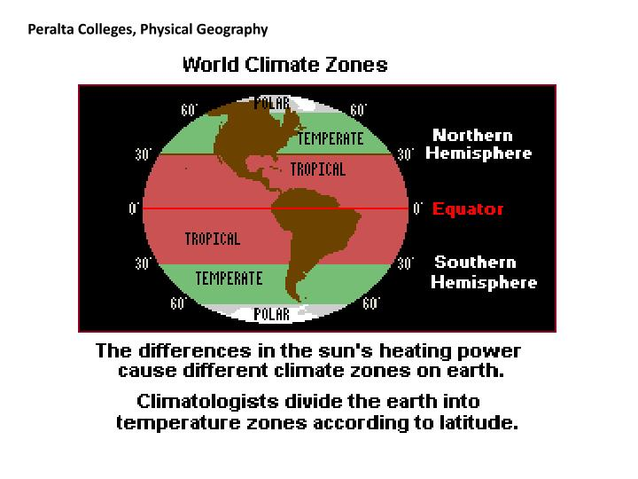 Peralta Colleges, Physical Geography