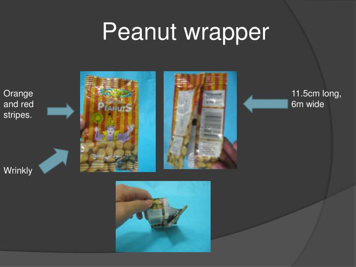 Peanut wrapper