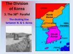 the division of korea