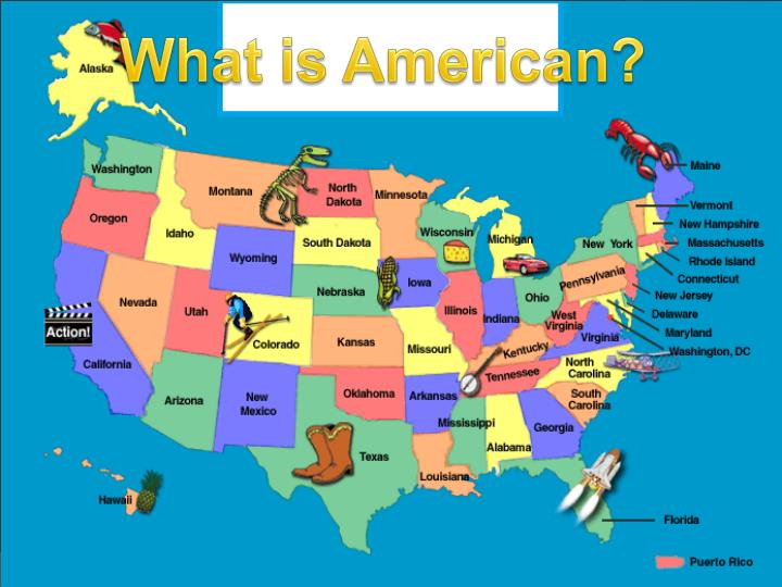 What is American?
