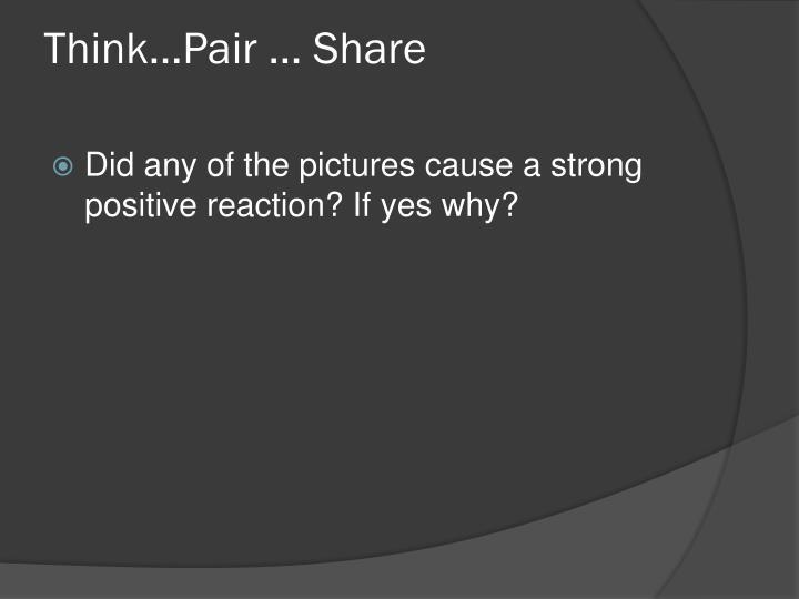 Think…Pair … Share