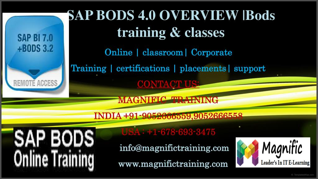 In this session we will explore sap data services and how to load.