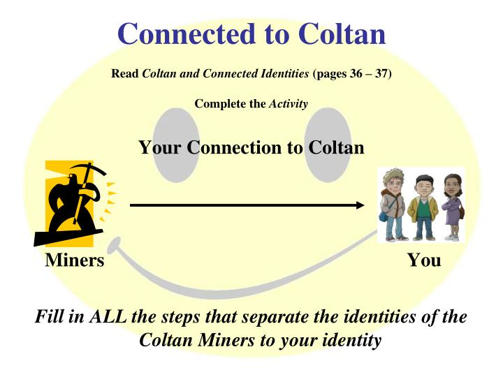Connected to Coltan