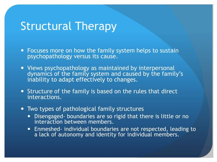 Structural Therapy