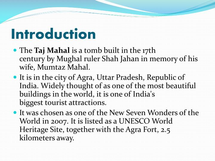 Ppt Effects Of Pollution On Historical Monuments