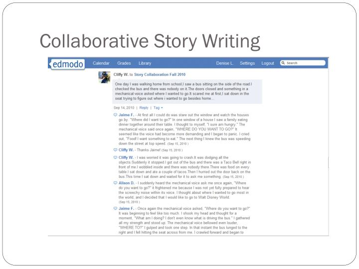 Collaborative Story Writing