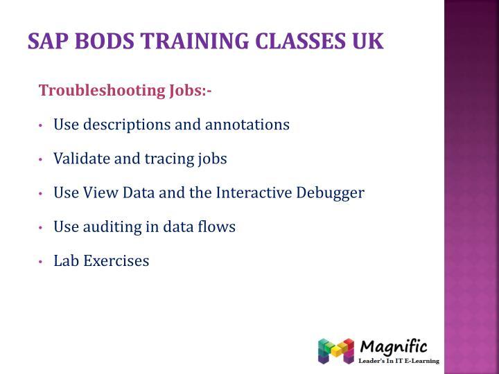 Sap bods training classes uk