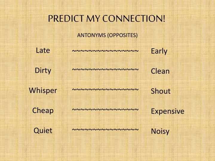 PPT - PREDICT MY CONNECTION! PowerPoint Presentation - ID:2517776