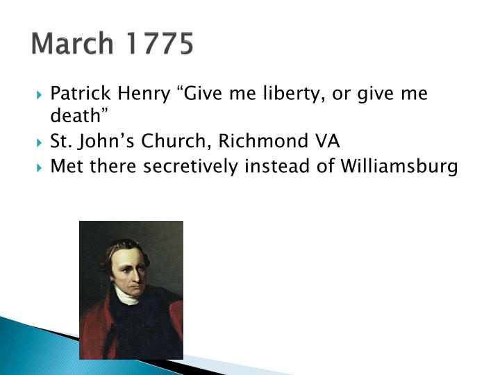 March 1775