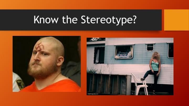 Know the Stereotype?