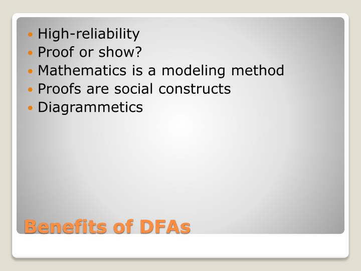 High-reliability