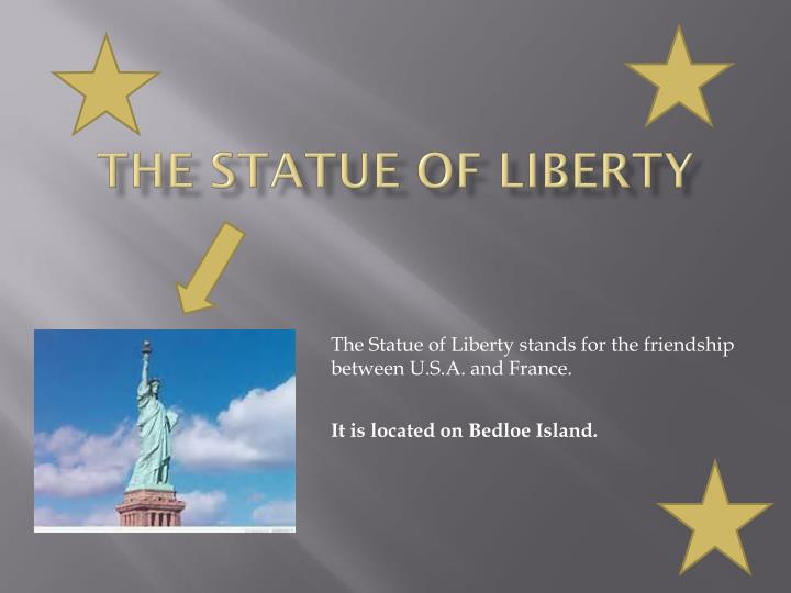the statue of liberty n.