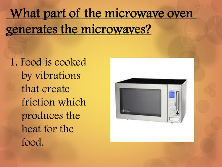 Ppt Microwave Cooking Powerpoint Presentation Id 2518417