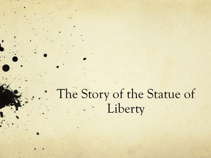 the story of the statue of liberty n.