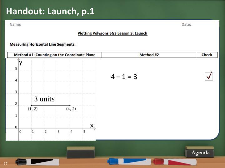 Handout: Launch, p.1