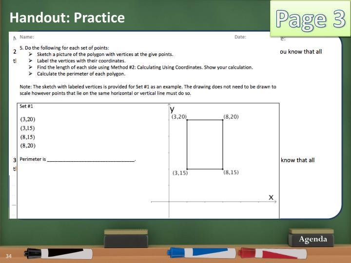 Handout: Practice