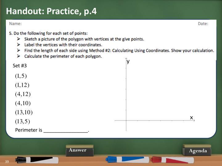 Handout: Practice, p.4